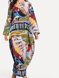 economico -Per donna Tubino Vestito Medio