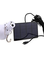 Недорогие -1шт 3 W Светодиодный уличный фонарь / Солнечный свет стены Работает от солнечной энергии Холодный белый 5 V Уличное освещение / Бассейн / Сад 12 Светодиодные бусины