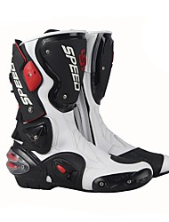 Недорогие -верховая езда профессиональный гоночный мотокросс сапоги мужской высокий цилиндр сапоги мода кожа мотоцикл сапоги
