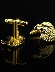 Недорогие -нерегулярный Золотой Запонки Сплав Животные / Мода Муж. Бижутерия Назначение Свидание / Бар