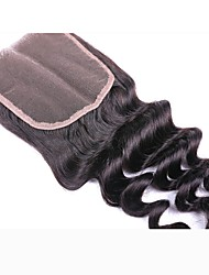 halpa -1 paketti Brasilialainen Syvät aallot 100% Remy Hair Weave -paketit Hiukset kutoo Aitohiuspidennykset 8-20inch Luonnollinen väri Hiukset kutoo Vastasyntynyt Vesiputous Cute Hiukset Extensions Naisten