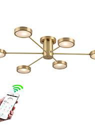 baratos -ZHISHU 6-luz Sputnik / Novidades Montagem do Fluxo Luz Descendente - Criativo, Controle Wi-Fi, 110-120V / 220-240V Lâmpada Incluída