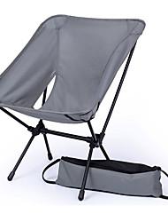 cheap -BEAR SYMBOL Camping Folding Chair Outdoor Lightweight, Rain-Proof, Anti-Slip Oxford Cloth, 7075 Aluminium for Fishing / Hiking / Camping - 1 person Gray / Yellow