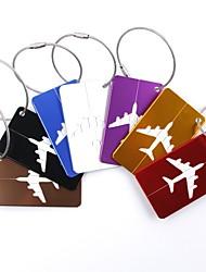 Недорогие -1шт Багажная бирка Аксессуары для багажа для Аксессуары для багажа Алюминиевый сплав - Черный / Красный / Золотой / Белый / Серебристый