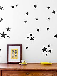 Недорогие -Декоративные наклейки на стены / Наклейки на холодильник - Простые наклейки Звезды Гостиная / В помещении