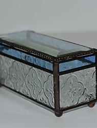 Недорогие -Место хранения организация Ювелирная коллекция PMMA Прямоугольная форма Открытая крышка