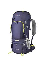 Недорогие -Mountaintop® 60+10 L Заплечный рюкзак - Дожденепроницаемый Воздухопроницаемость Стреч На открытом воздухе Пешеходный туризм Походы Сноубординг 100 г / м2 полиэфирный стреч-трикотаж