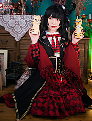 cheap -Inspired by Touken Ranbu Kashuu Kiyomitsu Anime Cosplay Costumes Cosplay Suits Anime Long Sleeve Dress / Shawl / Sash / Ribbon For Women's Halloween Costumes