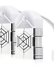 Недорогие -2pcs Туалетный свет Аккумуляторы AAA Диммируемая / Меняет цвета / Датчик человеческого тела Батарея