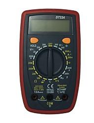 Недорогие -dt33a lcd портативный цифровой мультиметр, используемый для дома и автомобиля