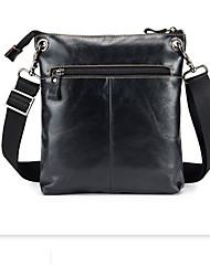 Недорогие -унисекс сумки наппа кожаный портфель сплошной черный