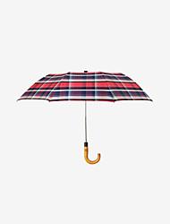 abordables -boy® Tejido / Acero Inoxidable / El material especial Hombre A prueba de Viento / Nuevo diseño / súper resistente al agua Paraguas de Doblar