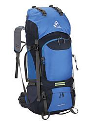 Недорогие -60 L Заплечный рюкзак - Дожденепроницаемый, Воздухопроницаемость На открытом воздухе Пешеходный туризм, Походы, Путешествия Нейлон Зеленый, Синий, Темно-синий