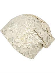 billige -Dame Basale / Ferie Blød Hat Blonder / Perler, Blomstret