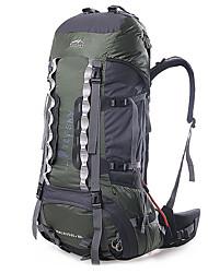Недорогие -TOPSKY 75 L Заплечный рюкзак Многофункциональный Дышащий Дожденепроницаемый Офис На открытом воздухе Пешеходный туризм Походы Путешествия Черный Оранжевый Зеленый / Да