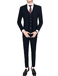 cheap -Men's Suits-Houndstooth Notch Lapel / Long Sleeve / Work