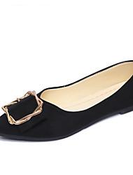 Недорогие -Жен. Комфортная обувь Синтетика Весна лето На каждый день На плокой подошве На плоской подошве Заостренный носок Черный / Серый / Светло-Розовый