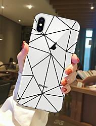 Недорогие -Кейс для Назначение Apple iPhone X / iPhone 8 Прозрачный / С узором Кейс на заднюю панель Фрукты Мягкий ТПУ для iPhone X / iPhone 8 Pluss / iPhone 8