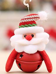Недорогие -Рождественский декор / Декорации Праздник Хлопковая ткань Квадратный Оригинальные Рождественские украшения