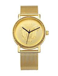 Недорогие -MEGIR Муж. Спортивные часы Нарядные часы Японский Кварцевый Золотистый 30 m Защита от влаги Повседневные часы Cool Аналоговый На каждый день Мода - Золотистый