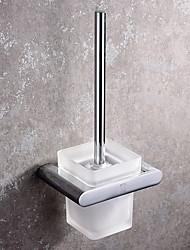 Недорогие -Держатель для ёршика Новый дизайн / Cool / Многофункциональный Современный Нержавеющая сталь / железо 1шт Держатели для туалетной щетки На стену