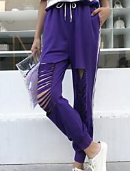 cheap -Women's Basic Legging - Solid Colored High Waist