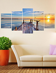economico -Adesivi decorativi da parete - Adesivi 3D da parete Paesaggi / Forma Salotto / Camera da letto
