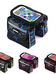 economico -Bag Cell Phone / Sacca da manubrio bici 6.2 pollice Schermo touch, Ompermeabile Ciclismo per Ciclismo Verde / Poliestere 600D