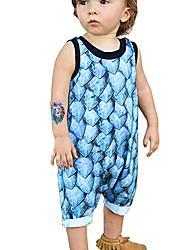 povoljno -Dijete Dječaci Print Bez rukávů Jednodijelno