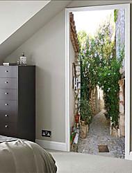 Недорогие -Декоративные наклейки на стены - 3D наклейки Натюрморт / 3D Спальня / В помещении