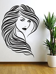 cheap -Decorative Wall Stickers - 3D Wall Stickers / Words & Quotes Wall Stickers Shapes / Photographic Living Room / Indoor