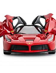 baratos -Carro com CR Rastar 50100 4CH Infravermelho Carro 1:14 9 km/h KM / H Controle Remoto / Luminoso