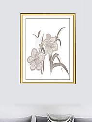 Недорогие -Декоративные наклейки на стены / Напольные наклейки - 3D наклейки Пейзаж / Фото Гостиная / В помещении