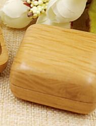 Недорогие -Место хранения организация Ювелирная коллекция деревянный Квадратная Открытая крышка