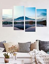 economico -Adesivi decorativi da parete - Adesivi 3D da parete Paesaggi / Forma Salotto / Sala studio / Ufficio