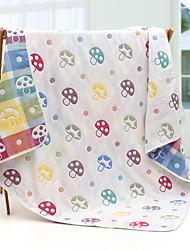 Недорогие -Ребёнок до года Универсальные Однотонный Одеяло Белый Один размер