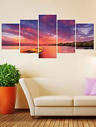 Недорогие -Декоративные наклейки на стены - 3D наклейки Пейзаж / Фото Гостиная / Детская