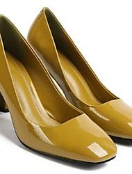 economico -Per donna Scarpe Vernice Estate Decolleté Tacchi Heelotypic Heel Nero / Verde