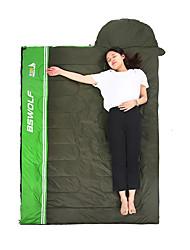 Недорогие -BSwolf Спальный мешок на открытом воздухе 15 °C Прямоугольный Пористый хлопок С защитой от ветра Легкость Воздухопроницаемость Пригодно для носки для