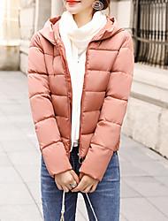baratos -mulheres descendo - com capuz colorido sólido