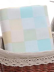 Недорогие -Высшее качество Банное полотенце, В клетку 100% хлопок Ванная комната 1 pcs