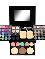 cheap -Makeup 54 Colors Eye Shadow Concealer / Blush / Highlighter Waterproof / Kits / lasting Waterproof Portable Daily Makeup / Party Makeup Makeup Cosmetic