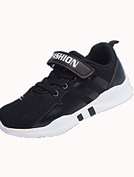 cheap -Girls' Shoes Mesh Spring &  Fall Comfort Sneakers Walking Shoes Buckle for Kids White / Black / Purple