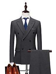 cheap -Men's Suits-Letter Peaked Lapel / Long Sleeve