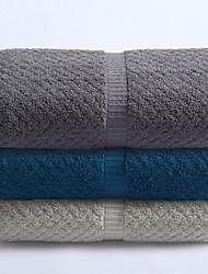 Недорогие -Высшее качество Полотенца для мытья, Геометрический принт Полиэстер / Хлопок Ванная комната 3 pcs