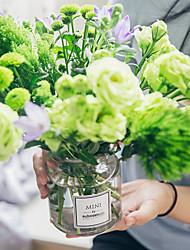 Недорогие -Искусственные Цветы 0 Филиал Классический / Односпальный комплект (Ш 150 x Д 200 см) Классика / Винтаж Ваза Букеты на стол