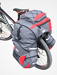 baratos -65 L Mala para Bagageiro de Bicicleta / Alforje para Bicicleta Em 3 1, Prova-de-Água, Á Prova-de-Chuva Bolsa de Bicicleta 600D de poliéster Bolsa de Bicicleta Bolsa de Ciclismo Ciclismo Moto