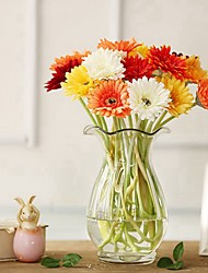 cheap -Artificial Flowers 5 Branch Classic / Single Stylish / Pastoral Style Daisies Tabletop Flower