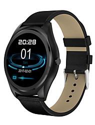 Недорогие -Смарт Часы N3Pro для Android iOS Bluetooth Пульсомер Израсходовано калорий Хендс-фри звонки Медиа контроль Регистрация дистанции / Напоминание о звонке / Датчик для отслеживания активности