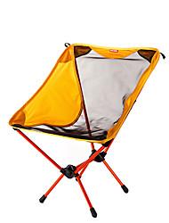 cheap -BEAR SYMBOL Camping Folding Chair Outdoor Lightweight, Rain-Proof, Anti-Slip Oxford Cloth, 7075 Aluminium for Fishing / Hiking / Camping - 1 person Yellow